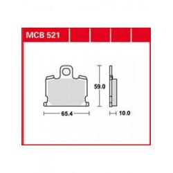 Мото накладки TRW MCB521