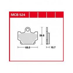 Мото накладки TRW MCB524