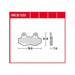 Мото накладки TRW MCB525