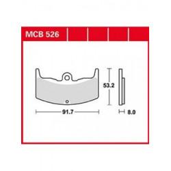 Мото накладки TRW MCB526