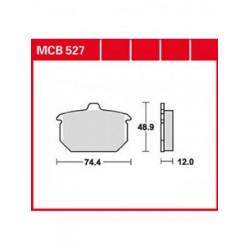 Мото накладки TRW MCB527