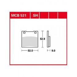 Мото накладки TRW MCB531