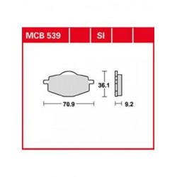 Мото накладки TRW MCB539SI