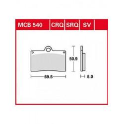 Мото накладки TRW MCB540SV