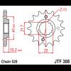 Предно зъбчато колело (пиньон) JTF308,13 thumb