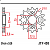 Предно зъбчато колело (пиньон) JTF403,14 thumb