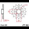 Предно зъбчато колело (пиньон) JTF404,14 thumb