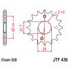 Предно зъбчато колело (пиньон) JTF436,14 thumb