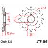 Предно зъбчато колело (пиньон) JTF495,15 thumb