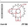 Предно зъбчато колело (пиньон) JTF558,17 thumb
