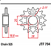 Предно зъбчато колело (пиньон) JTF704,15 thumb