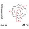 Предно зъбчато колело (пиньон) JTF708,14 thumb