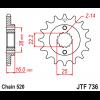 Предно зъбчато колело (пиньон) JTF736,13 thumb