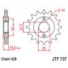 Предно зъбчато колело (пиньон) JTF737,14 thumb