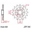 Предно зъбчато колело (пиньон) JTF741,14 thumb