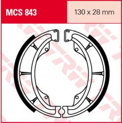 Мото накладки TRW MCS843