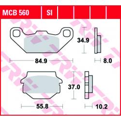 Мото накладки TRW MCB560