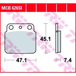 Мото накладки TRW MCB626SI