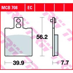 Мото накладки TRW MCB708