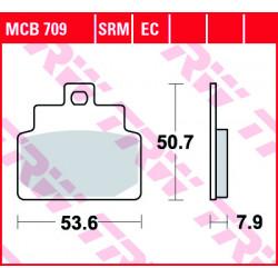 Мото накладки TRW MCB709