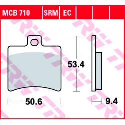 Мото накладки TRW MCB710