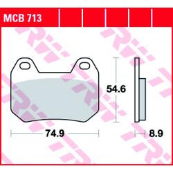 Мото накладки TRW MCB713