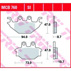 Мото накладки TRW MCB760SI