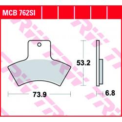 Мото накладки TRW MCB762SI