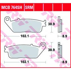 Мото накладки TRW MCB764SRM