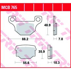 Мото накладки TRW MCB765