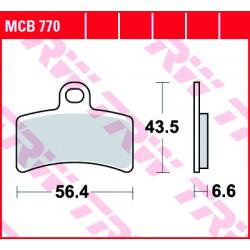 Мото накладки TRW MCB770