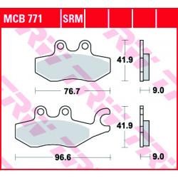 Мото накладки TRW MCB771