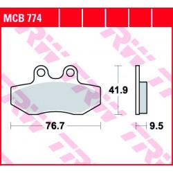 Мото накладки TRW MCB774