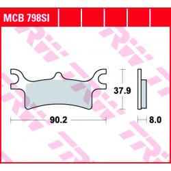 Мото накладки TRW MCB798SI