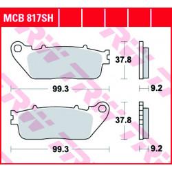 Мото накладки TRW MCB817SH