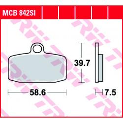 Мото накладки TRW MCB842SI