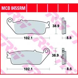 Мото накладки TRW MCB845SRM