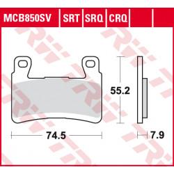 Мото накладки TRW MCB850SV