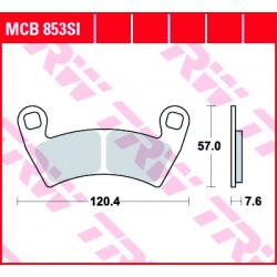 Мото накладки TRW MCB853SI
