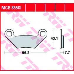 Мото накладки TRW MCB855SI