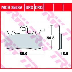 Мото накладки TRW MCB856SRQ