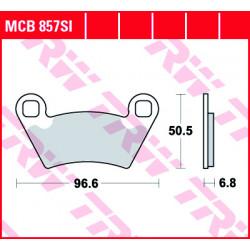 Мото накладки TRW MCB857SI