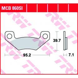 Мото накладки TRW MCB860SI