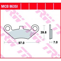 Мото накладки TRW MCB863SI