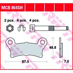 Мото накладки TRW MCB864SH