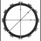 Комплект феродови дискове TRW MCC110-8