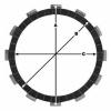 Комплект феродови дискове TRW MCC530-7 thumb