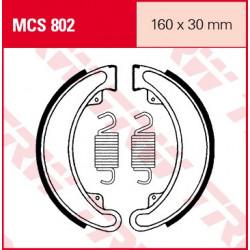 Мото накладки TRW MCS802