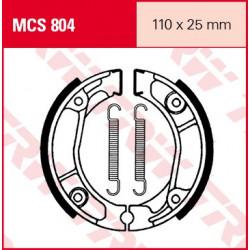 Мото накладки TRW MCS804
