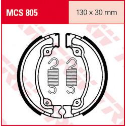 Мото накладки TRW MCS805